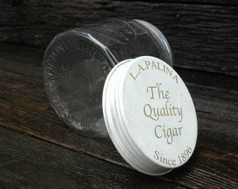 The Quality Cigar Jar,LaPalina, Cigar Storage Jar