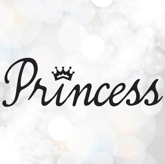 Princess Svg File Baby Girl Svg Nursery Design Svg Png