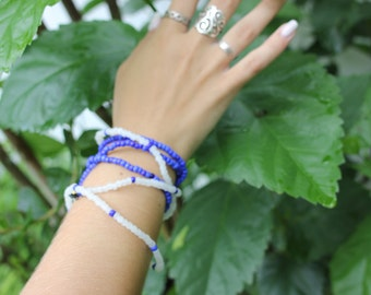 beaded bracelets (stackable)