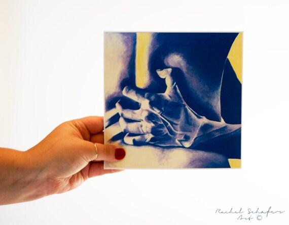 sensual body slide hand
