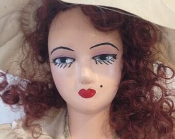 Vintage French Boudoir doll