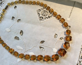 1920. Gorgeous crystal necklace,