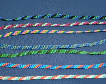 Thread Friendship Bracelets