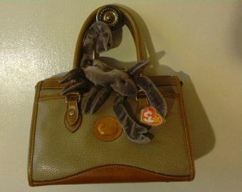 Vintage Dooney & Bourke All-Weather-Leather handbag/purse