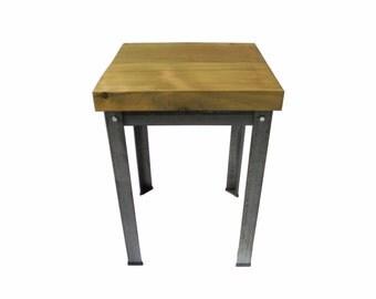 Side Table (Oak/Steel)