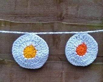 Handmade bunting/garland - circles