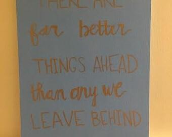 CS Lewis Quote Canvas