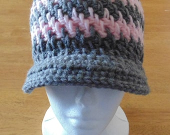 Ladies Crochet Hat, Babies Crochet Hat, Girls Crochet Hat, Brick Stitch Hat, Winter Hat, Ladies Hat, Women's Hat, Babies Hat, Girls Hat