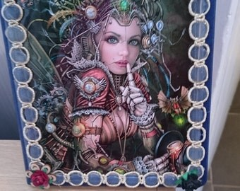 Steampunk Fairy Notebook