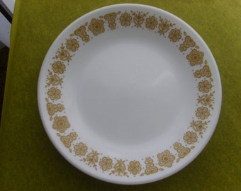 Corelle Butterfly Gold = 1973 - Saucers