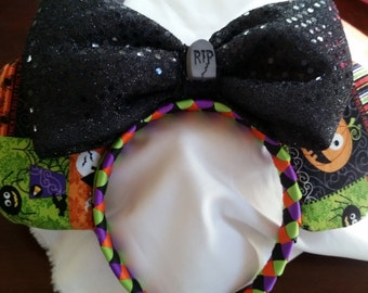 Halloween Inspired Mouse Ears