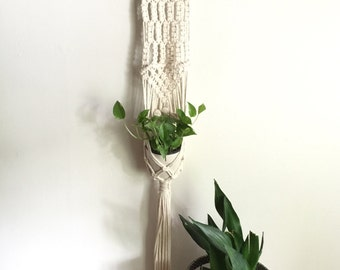 Hand Woven Cotton Rope Macrame Plant Hanger
