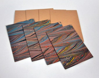Marbled Paper Etsy