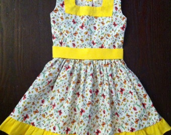 Baby dress butterfly-by Baby Princess Couture