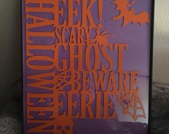 Halloween collage 8x10