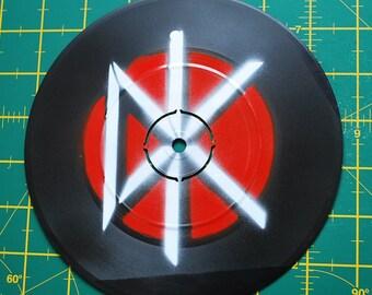 "Dead Kennedys - Custom 7"" EP Stencil Art"
