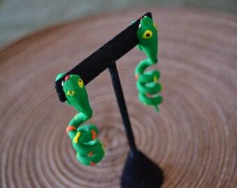 Snake Bite Earrings