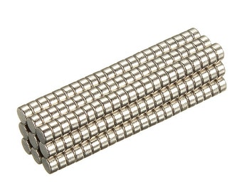 200pcs 2mm x 1mm Super Strong Grade Disc Rare Earth 2x1mm Super strong Magnets N35 Craft Model Powerful
