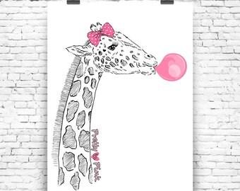 Art Print Think Pink No3