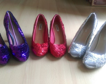 Ruby Slippers Type Shoes - Size 7