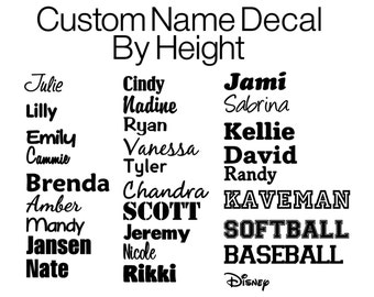 Personalized Vinyl Decal Custom Vinyl Name Decals Wall - Custom vinyl decals for crafts