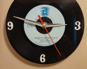 The Animals Recycled Record Clock