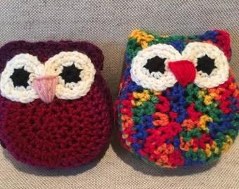 Crochet Owl Stuffies