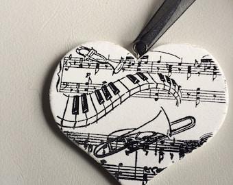 Music lover heart