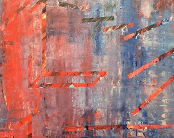 Fabra - Abstract Painting by Teddy Engel