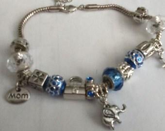 Charm Bracelet European Style (Customize to Order)