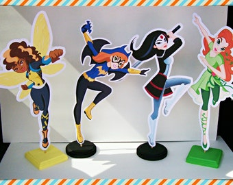 Superhero Girls Centerpieces