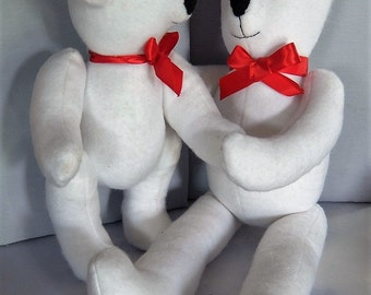 The Boys teddy bears. OOAK.
