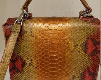 Genuine Python bag