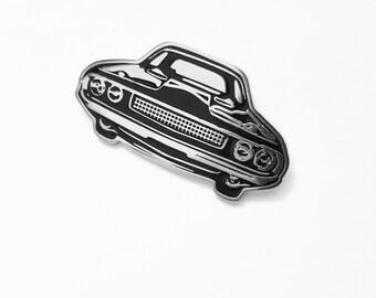 Muscle car pin, enamel pin