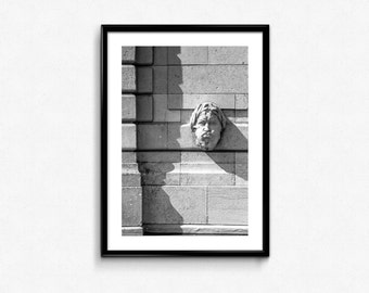 Wall / Montmartre / Paris / France / Black and White / Decoration / Photo Frame / Fine Art