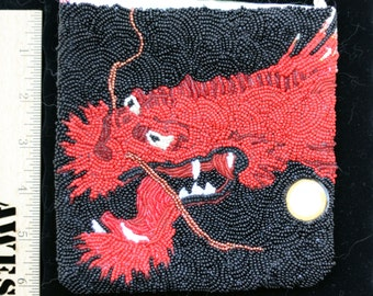 Beaded Dragon Bag