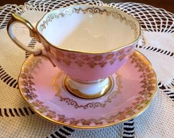1960's Royal Albert teacup and saucer