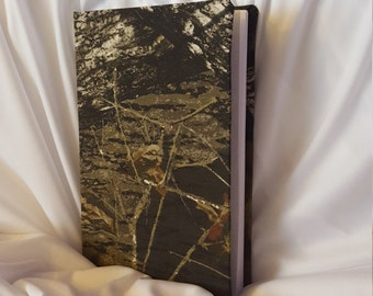 Hand Made Realtree Camo Journal