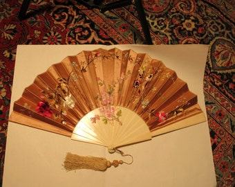 Antique Japanese Fan