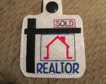 Realtor key fob