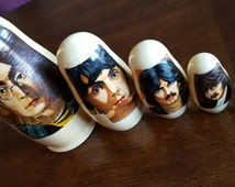 The Beatles Nesting Dolls