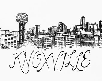 Knoxville Print