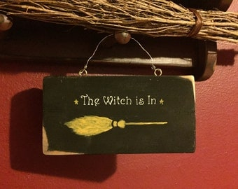 Halloween Decor/Witch decor/Halloween witch decor/Halloween sign/Halloween wall art/Magick/Witch sayings/Wicca sign/Witch/Sign/Wiccan