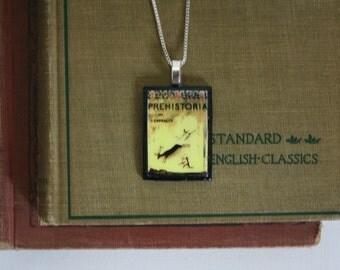 "Handmade Pendant: ""Prehistoria"" by J. Carballo"