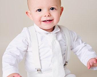 Boy's Christening, Baptism, Blessing Outfit - Landen