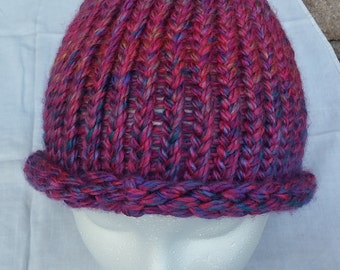 Pink Knitted Hat