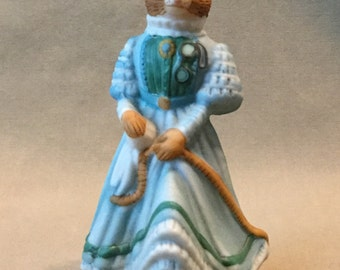 """Franklin Mint """"Winsome"""" Woodmouse"""