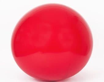 Latex red giant - 90 cm - decoration ball birthday wedding engagement chic