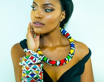 Ndebele Beaded Necklace