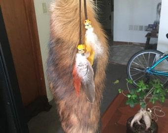 Crystal Fox Tail belt